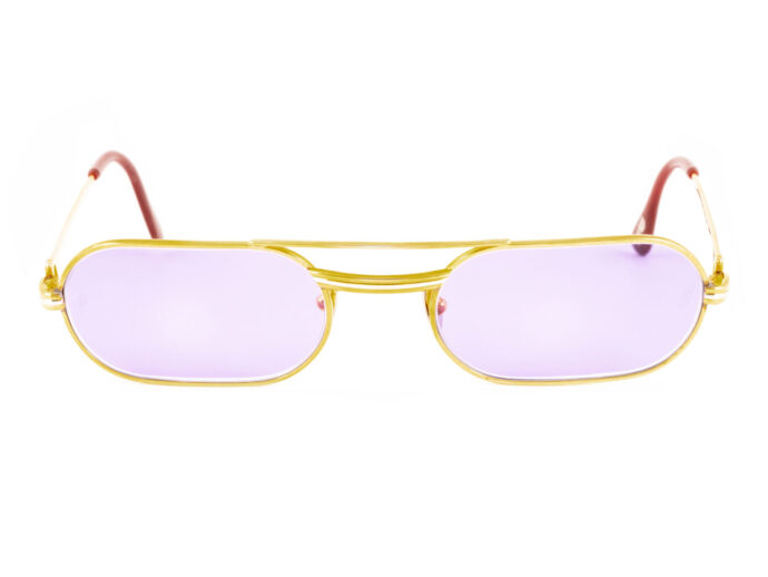 Cartier Must LC 53-20 Gold Purple