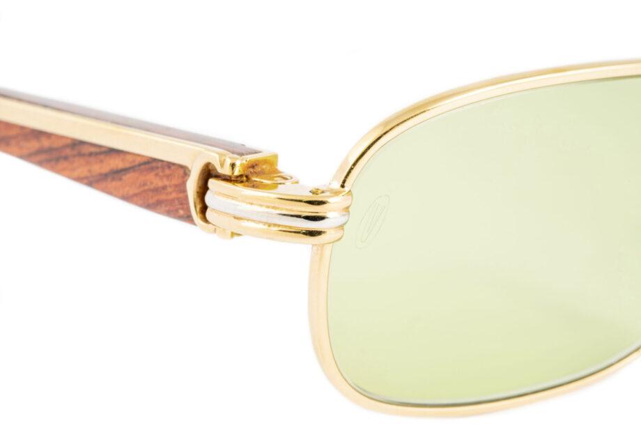 Cartier Caramat 52-22 Bubinga Wood Green