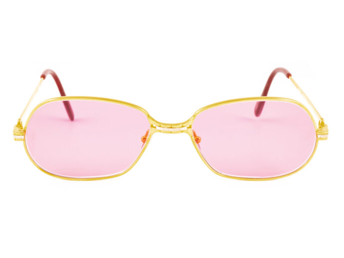 Cartier Panthere P.M. 56-17 Gold Pink