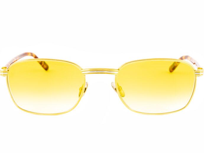 Cartier Aube 54-21 Gold Gelb
