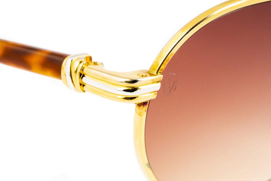 Cartier Leur 53-19 Gold Ambra