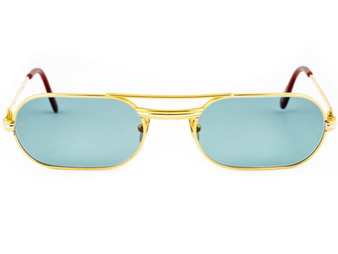 Cartier Must LC 53-20 Gold Aqua Botilia