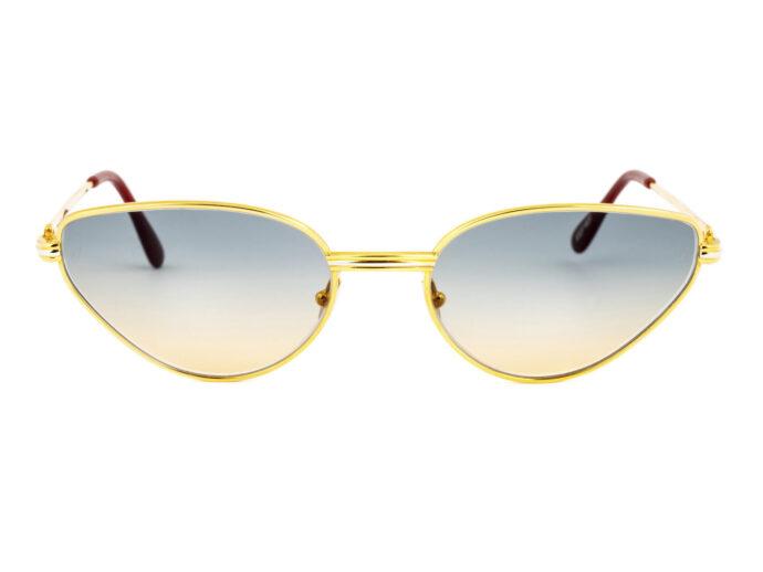 Cartier Rivoli 56-19 Gold Tramonto